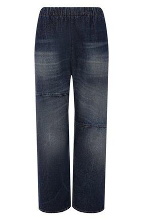 Женские джинсы MM6 темно-синего цвета, арт. S52KA0324/S30460   Фото 1