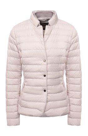 Женская пуховая куртка MOORER кремвого цвета, арт. SULLA-THC/M0DGI100044-TEPA036 | Фото 1