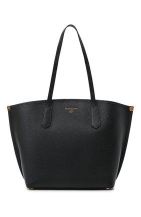 Женский сумка-тоут jane large MICHAEL MICHAEL KORS черного цвета, арт. 30T1GJBT3L | Фото 1