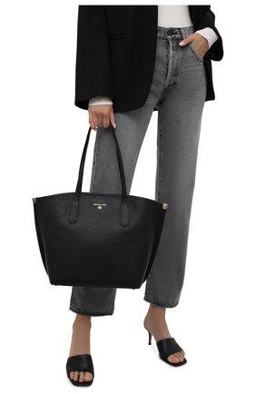 Женский сумка-тоут jane large MICHAEL MICHAEL KORS черного цвета, арт. 30T1GJBT3L | Фото 2