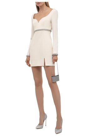 Женское шерстяное платье GIUSEPPE DI MORABITO кремвого цвета, арт. PF21191DR-136 | Фото 2
