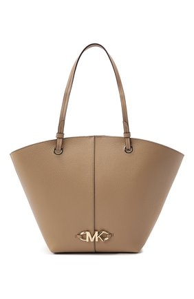 Женский сумка-тоут izzy medium MICHAEL MICHAEL KORS бежевого цвета, арт. 30T1LZYT8L | Фото 1