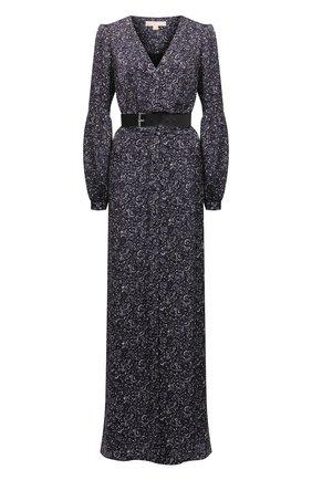 Женское платье из вискозы MICHAEL MICHAEL KORS фиолетового цвета, арт. MU180802KP | Фото 1