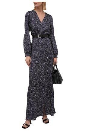 Женское платье из вискозы MICHAEL MICHAEL KORS фиолетового цвета, арт. MU180802KP | Фото 2