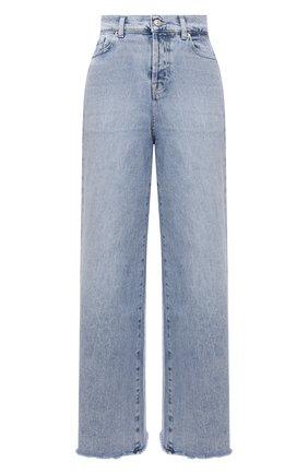 Женские джинсы 7 FOR ALL MANKIND голубого цвета, арт. JSZ0B75TL0   Фото 1