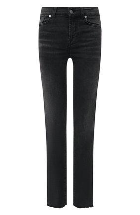 Женские джинсы 7 FOR ALL MANKIND темно-серого цвета, арт. JSWSB230KB   Фото 1