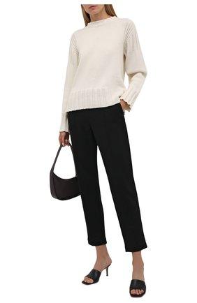 Женские хлопковые брюки WINDSOR черного цвета, арт. 52 DT605 10011927 | Фото 2