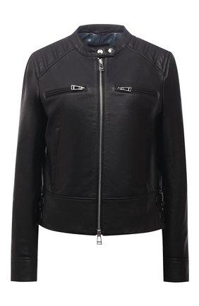 Женская кожаная куртка WINDSOR черного цвета, арт. 52 DL600 10006420 | Фото 1