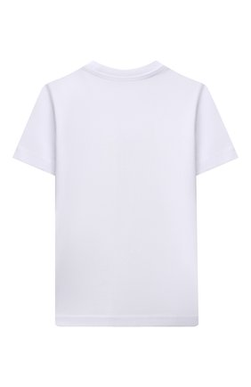Детская хлопковая футболка DSQUARED2 белого цвета, арт. DQ0516-D00MQ | Фото 2