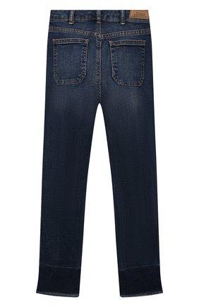 Детские джинсы POLO RALPH LAUREN синего цвета, арт. 313832766 | Фото 2 (Материал внешний: Хлопок; Ростовка одежда: 10 - 11 лет | 140 - 146см, 12 лет | 152 см, 13 - 15 лет | 158 см, 8 лет | 128 см, 9 лет | 134 см)