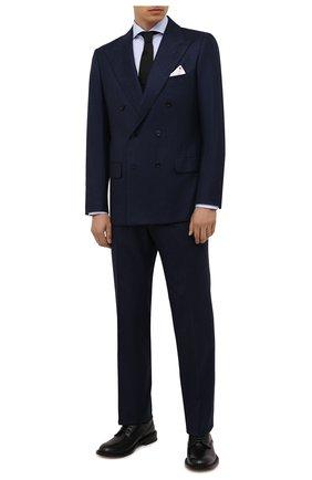 Мужской кашемировый костюм KITON синего цвета, арт. UA85K0137A | Фото 1