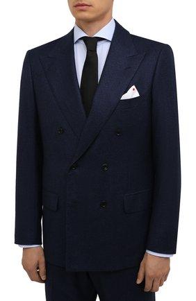 Мужской кашемировый костюм KITON синего цвета, арт. UA85K0137A | Фото 2