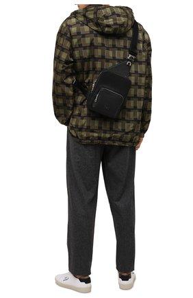 Мужской кожаный рюкзак palermo DOLCE & GABBANA черного цвета, арт. BM1980/AZ319 | Фото 2