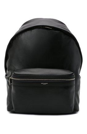 Мужской кожаный рюкзак city SAINT LAURENT черного цвета, арт. 534967/0AY3F | Фото 1