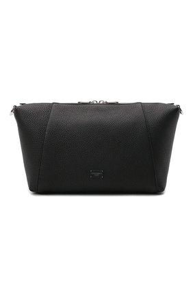 Мужская кожаная сумка palermo DOLCE & GABBANA черного цвета, арт. BM2015/AZ319 | Фото 1