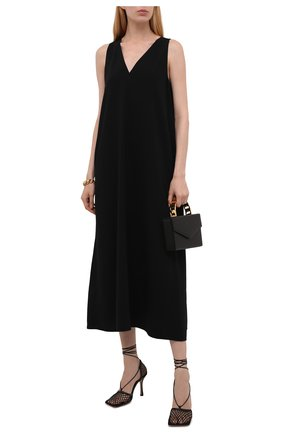 Женское платье BOSS черного цвета, арт. 50456643 | Фото 2