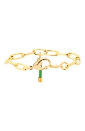 Женский браслет CRYSTALLINE JEWELLERY зеленого цвета, арт. 556N | Фото 2 (Материал: Металл)