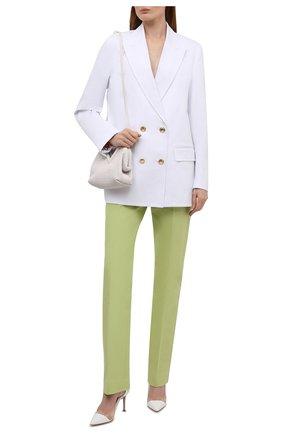 Женские комбинированные туфли plexi 85 GIANVITO ROSSI белого цвета, арт. G20938.85RIC.VGLBITR | Фото 2