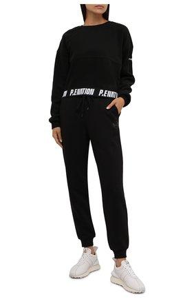 Женский свитшот P.E. NATION черного цвета, арт. 21PE1F027   Фото 2 (Материал внешний: Синтетический материал; Рукава: Длинные; Длина (для топов): Стандартные; Женское Кросс-КТ: Свитшот-одежда, Свитшот-спорт; Стили: Спорт-шик)
