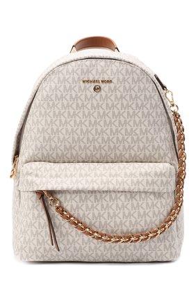 Женский рюкзак slater MICHAEL MICHAEL KORS кремвого цвета, арт. 30T0G04B6B | Фото 1