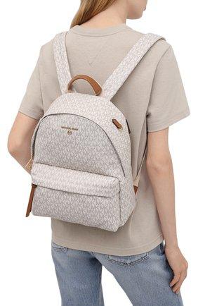 Женский рюкзак slater MICHAEL MICHAEL KORS кремвого цвета, арт. 30T0G04B6B | Фото 2