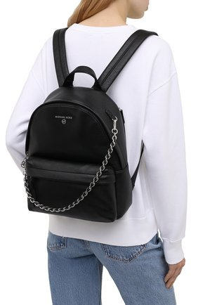 Женский рюкзак slater MICHAEL MICHAEL KORS черного цвета, арт. 30T0S04B1L | Фото 2