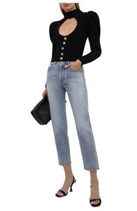 Женский свитер GIUSEPPE DI MORABITO черного цвета, арт. PF21086KN-144 | Фото 2