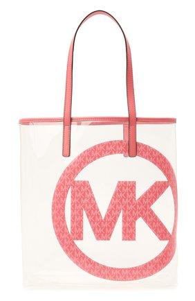 Женский сумка-тоут the michael large MICHAEL MICHAEL KORS розового цвета, арт. 30T1G01T3P | Фото 1