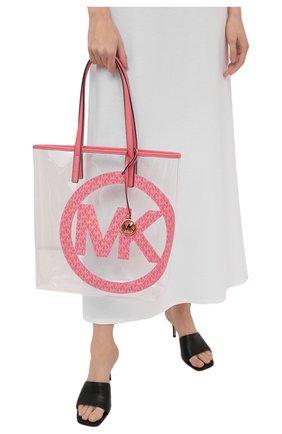 Женский сумка-тоут the michael large MICHAEL MICHAEL KORS розового цвета, арт. 30T1G01T3P | Фото 2