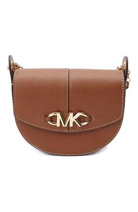Женская сумка izzy small MICHAEL MICHAEL KORS коричневого цвета, арт. 32T1GZYC0L | Фото 1