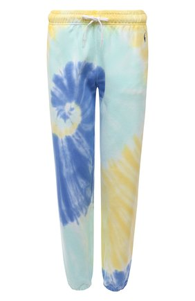 Женские хлопковый джоггеры POLO RALPH LAUREN разноцветного цвета, арт. 211843248 | Фото 1 (Материал внешний: Хлопок; Длина (брюки, джинсы): Стандартные; Женское Кросс-КТ: Джоггеры - брюки, Брюки-спорт; Стили: Спорт-шик; Силуэт Ж (брюки и джинсы): Джоггеры)