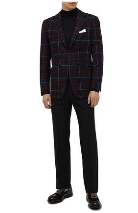 Мужские кожаные лоферы bernini DOLCE & GABBANA черного цвета, арт. A30141/A0821 | Фото 2