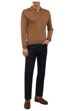 Мужские замшевые лоферы H`D`S`N BARACCO коричневого цвета, арт. 0RFE0.S.1* | Фото 2