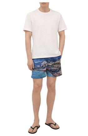 Мужские резиновые шлепанцы ORLEBAR BROWN черного цвета, арт. 274349 | Фото 2 (Материал внутренний: Текстиль; Материал внешний: Резина)
