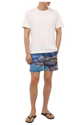 Мужские плавки-шорты ORLEBAR BROWN синего цвета, арт. 274155 | Фото 2