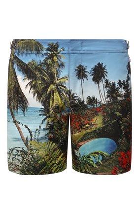 Мужские плавки-шорты ORLEBAR BROWN синего цвета, арт. 274156 | Фото 1