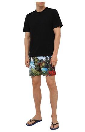 Мужские плавки-шорты ORLEBAR BROWN синего цвета, арт. 274156 | Фото 2