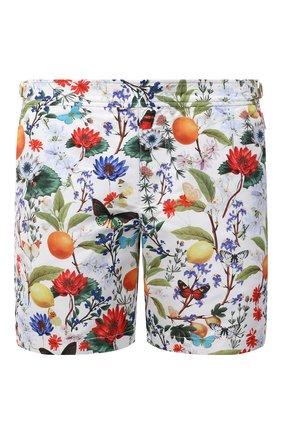 Мужские плавки-шорты ORLEBAR BROWN разноцветного цвета, арт. 274173 | Фото 1 (Материал внешний: Синтетический материал; Принт: С принтом; Мужское Кросс-КТ: плавки-шорты)