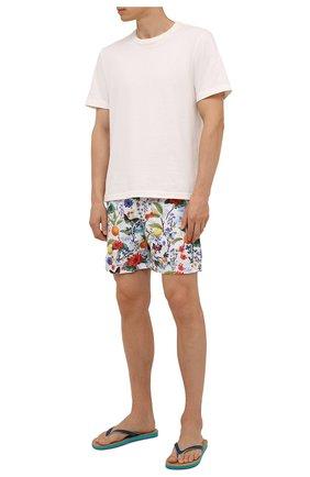 Мужские плавки-шорты ORLEBAR BROWN разноцветного цвета, арт. 274173 | Фото 2 (Материал внешний: Синтетический материал; Принт: С принтом; Мужское Кросс-КТ: плавки-шорты)