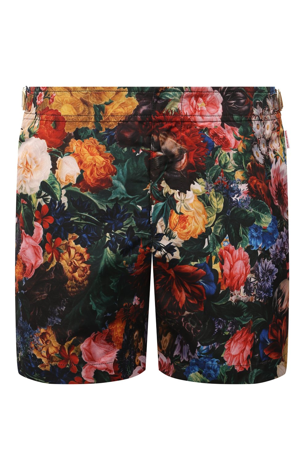 Мужские плавки-шорты ORLEBAR BROWN разноцветного цвета, арт. 274187 | Фото 1 (Материал внешний: Синтетический материал; Принт: С принтом; Мужское Кросс-КТ: плавки-шорты)