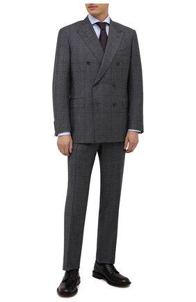 Мужской шерстяной костюм CANALI серого цвета, арт. 11487/19/BF00285 | Фото 1