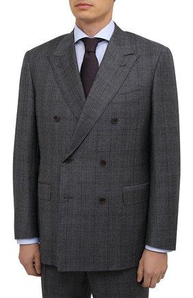 Мужской шерстяной костюм CANALI серого цвета, арт. 11487/19/BF00285 | Фото 2