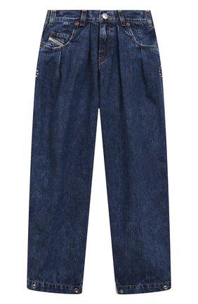 Детские джинсы DIESEL синего цвета, арт. J00326-KXB94 | Фото 1