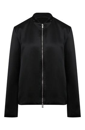 Женская куртка из вискозы TOTÊME черного цвета, арт. 213-103-714 | Фото 1