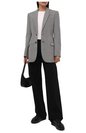 Женские кожаные кеды belle PREMIATA черного цвета, арт. BELLE/VAR5386 | Фото 2