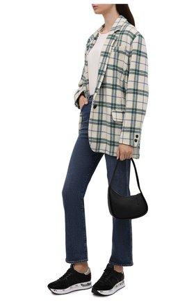 Женские текстильные кроссовки conny PREMIATA черного цвета, арт. C0NNY/VAR5329 | Фото 2