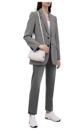 Женские кожаные кроссовки lucy-d PREMIATA белого цвета, арт. LUCYD/VAR5303 | Фото 2