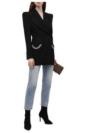 Женский шерстяной жакет GIUSEPPE DI MORABITO черного цвета, арт. PF21041JA-136 | Фото 2