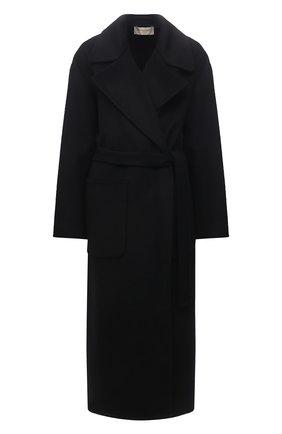Женское шерстяное пальто MICHAEL MICHAEL KORS черного цвета, арт. MS12023GBX | Фото 1