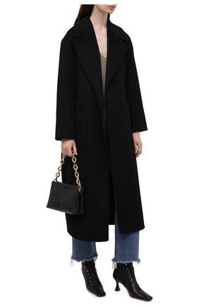 Женское шерстяное пальто MICHAEL MICHAEL KORS черного цвета, арт. MS12023GBX | Фото 2